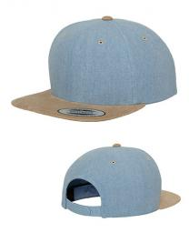 Chambray-Suede Snapback